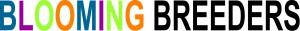 BloomingBreeders logo letters zwart