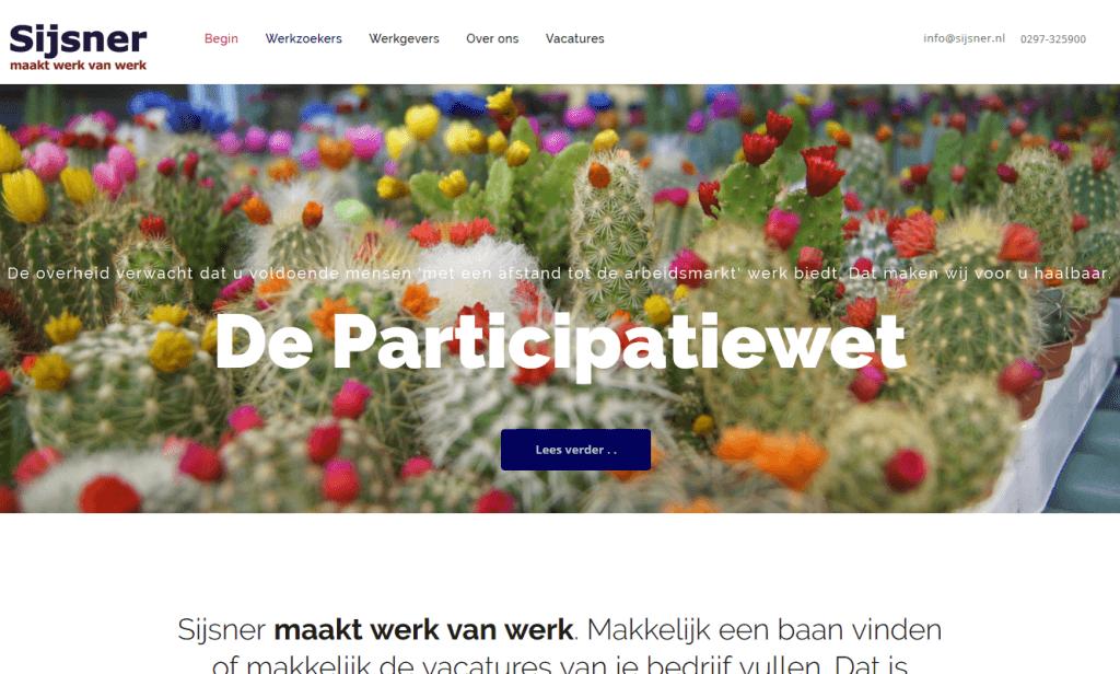 Sijsner - website-ontwerp, -content en begeleiding realisatie