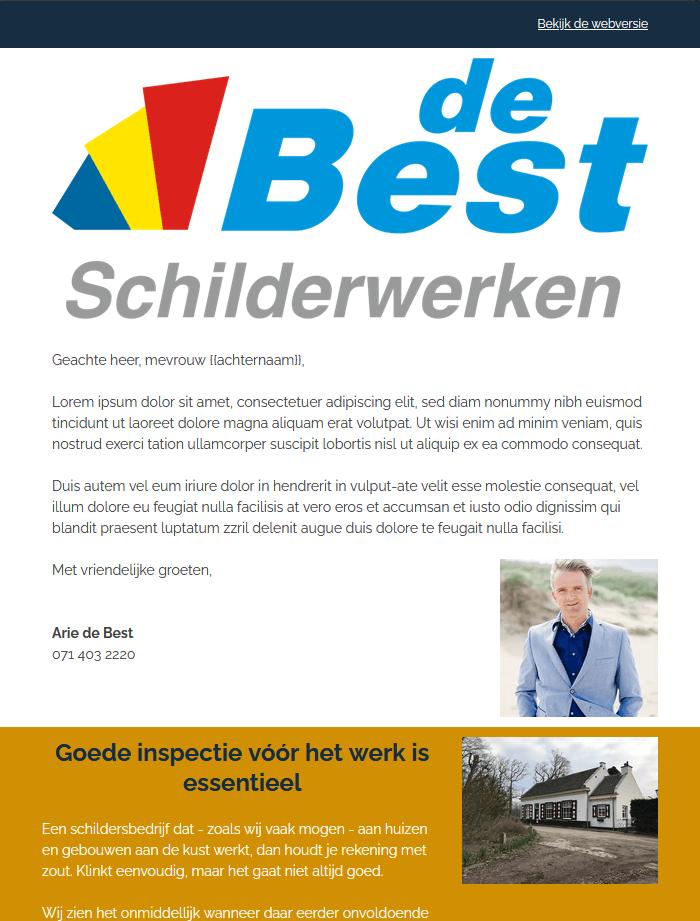 201103 DeBest mailing